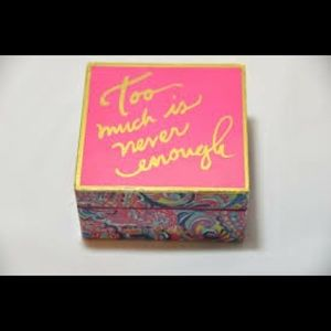 Lilly Pulitzer jewelry box